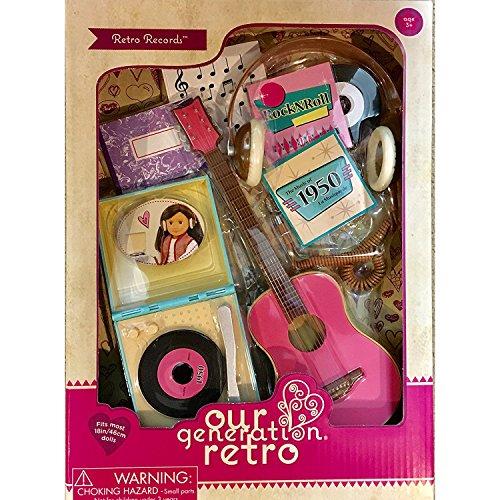 Our Generation Retro Accessories Retro Records For 18