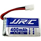 Transer® 1PC Battery- 3.7V 400mAh,Spare Parts Lipo Battery- for JJRC H31 RC Quadcopter Drone