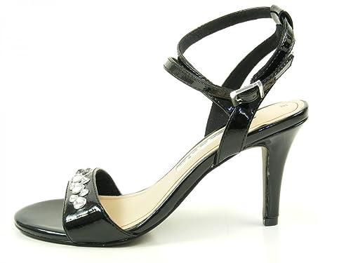 Tamaris 1 28345 36 Damen Lack Sandalen Sandaletten