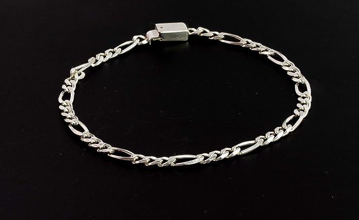 ed2e86f074f8 Pulsera tipo cadena fina 40 de 16 cm de longitud para Dama de Plata ...