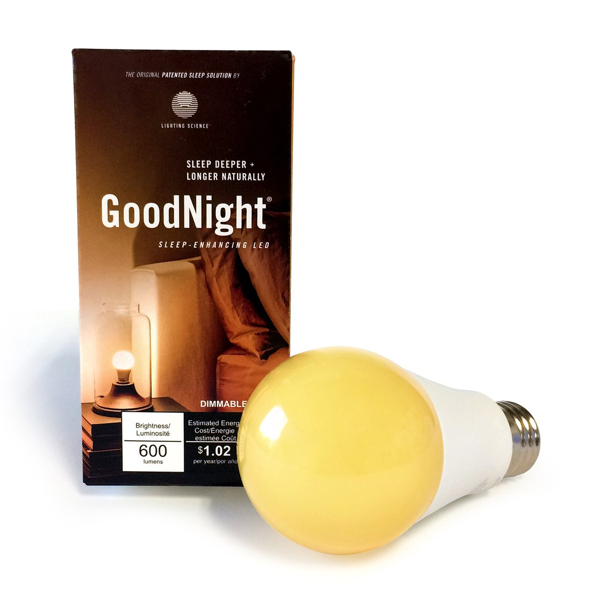 Lighting Science FG-02263 Goodnight Sleep Bulb