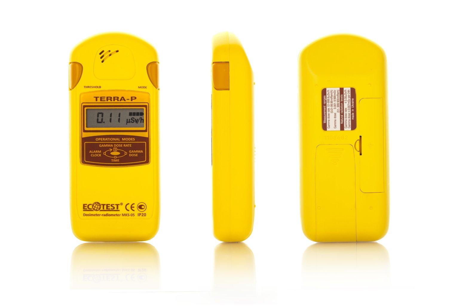 Geiger Counter Terra-P, Dosimeter Radiometer Radiation Detector MKS-05 IP30