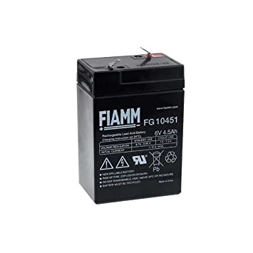 FIAMM - Batería recargable de recambio para moto, coche y ...