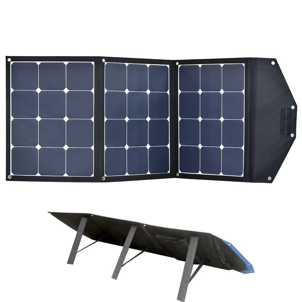 ACOPOWER 120W Portable Solar Panel Kits, 12V Foldable