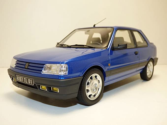 Norev Peugeot 309 Gti 16 1991 Auto Miniatur Collection 184881 Blau Miami Spielzeug