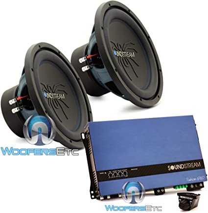 Soundstream Rubicon Nano RN1.5000D 5000 W Monoblock Class D Subwoofer Amplifier