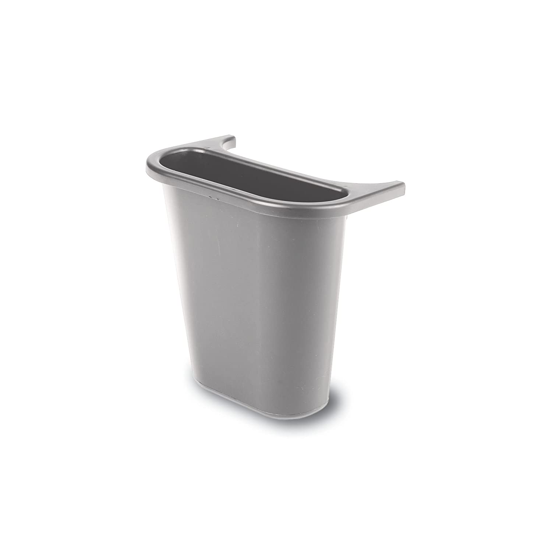Rubbermaid Commercial Deskside Trash Can 3 Gallon FG295500GRAY Gray
