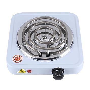 Cocina Eléctrica calentador de café calefactor eléctrico estufa eléctrica 1000 W encendedor de carbón: Amazon.es: Hogar