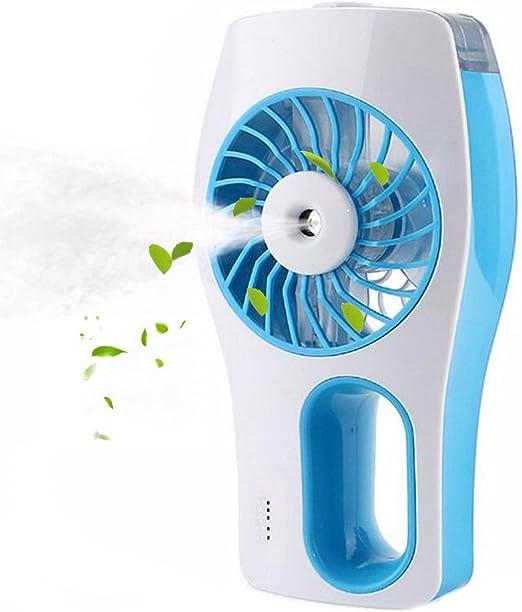 Bnoia Mini ventilador USB de mano humidificación ventilador ...