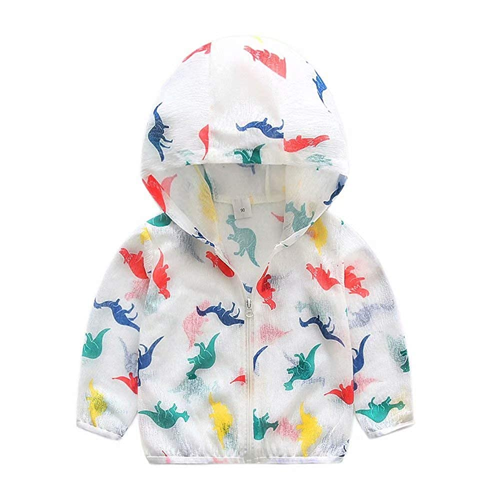 Toddler Boys Sun Protective Clothing Children Baby Summer UV Protection Hoodie