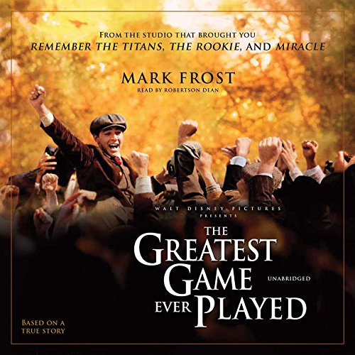 The Greatest Game Ever Played: Library Edition by Blackstone Audio Inc