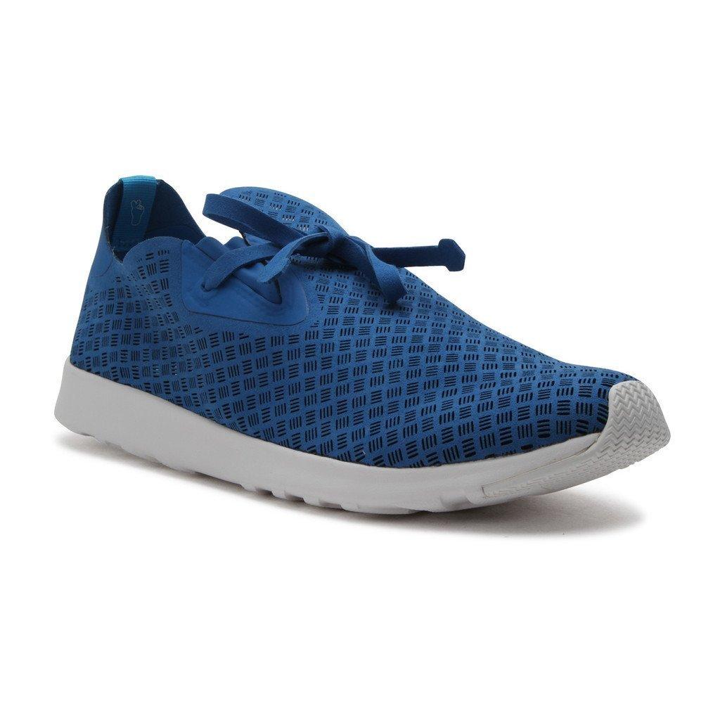 Native Unisex Apollo Moc Fashion Sneaker. Barracuda Blue / Barracuda Blue