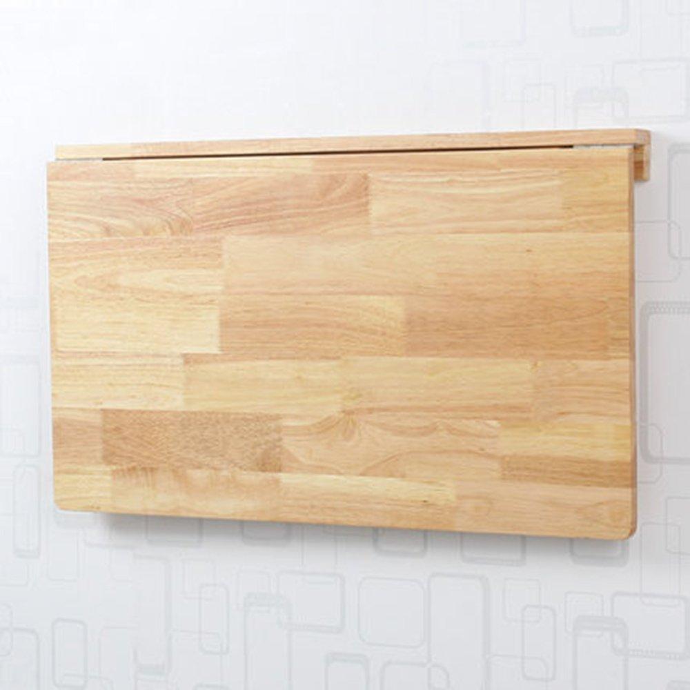 マチョン コンピュータデスク ソリッドウッド壁掛けデスクコンピュータデスク折り畳み式 (色 : B, サイズ さいず : 60cm*40cm) B07DS6H7MJ 60cm*40cm|B B 60cm*40cm
