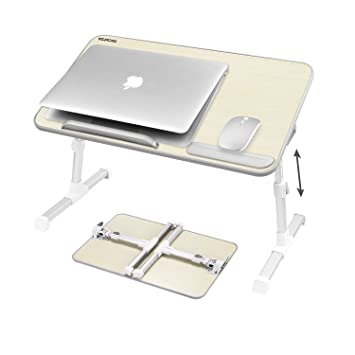 laptop bed tray table nearpow adjustable laptop bed stand portable standing table with foldable