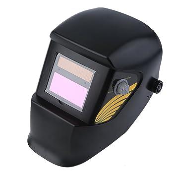 blackpoolal Casco de soldar automático Solar Sudor Máscara Casco soldar Resistente para Todas Las técnicas de Sudor autom. abdunkelnd: Amazon.es: Bricolaje ...