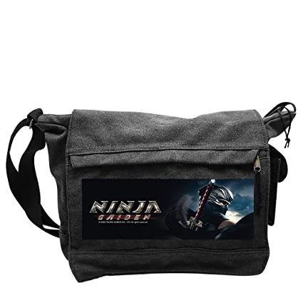 NINJA GAIDEN - Messenger Bag Ryu Hayabusa Big Size: Amazon ...