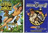 George of the Jungle 2 , Inspector Gadget 2 : Walt Disney 2 Pack Collection