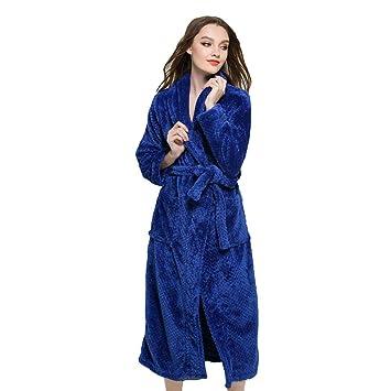 AZW@ Pijamas de Pareja: para Mujer, con Bata de Baño Acolchada, para