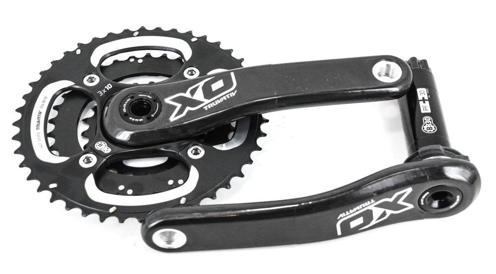 SRAM XO Truvativ BB30 / PF30 Triple MTB Bike Crankset M10s 44/33/22T 175mm NEW