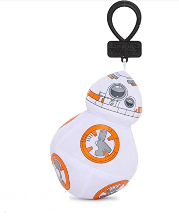 amazon com disney star wars characters 5 6 inches plush clip for
