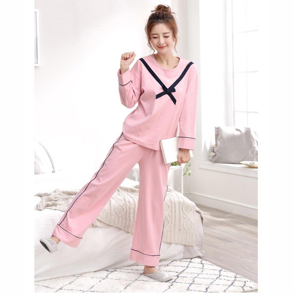 Pijamas para mujer Conjunto algodón negro Pantalones Ropa de una ...