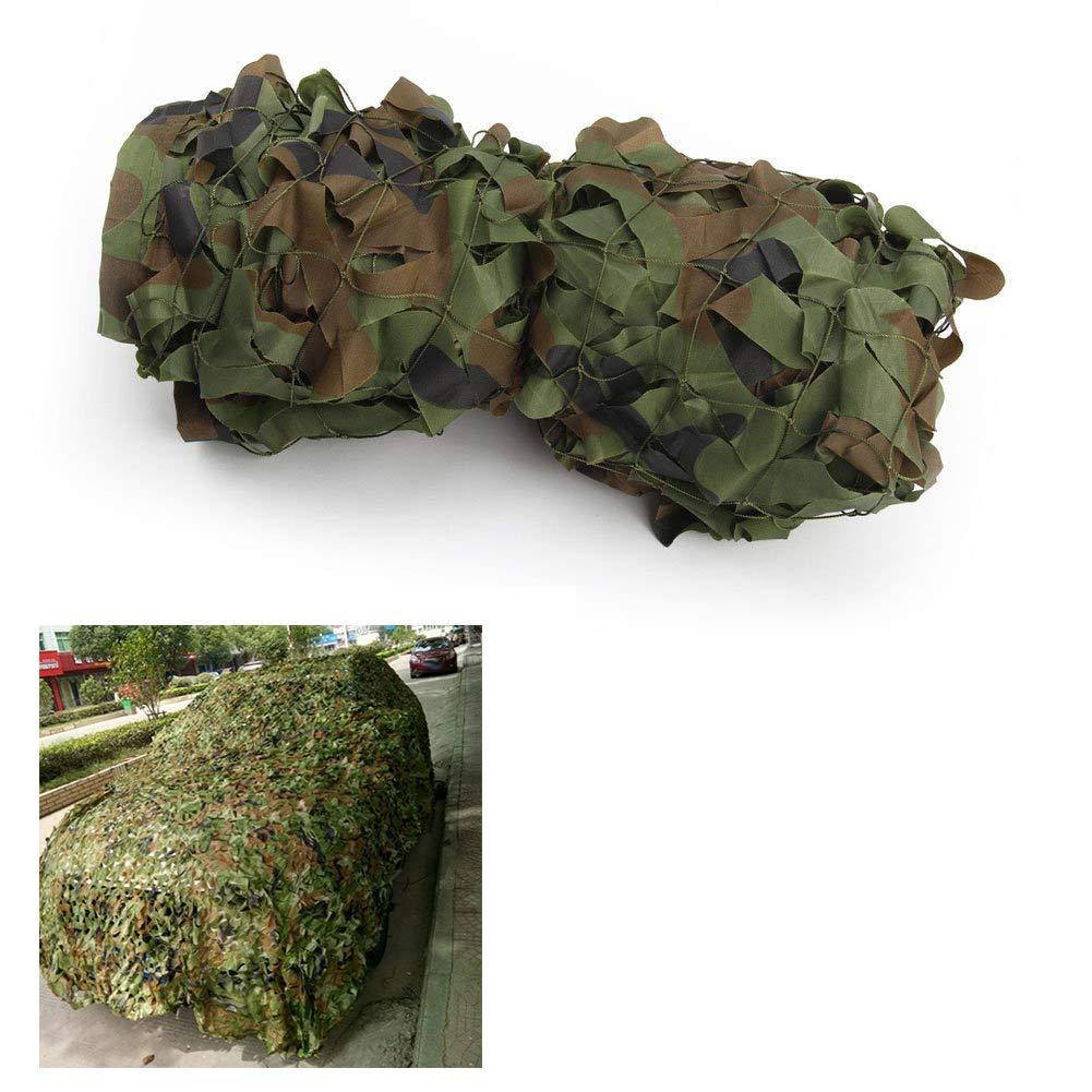 4x6m(13.119.7ft) GYiYi Filet de Camouflage, Filet de Prougeection Solaire, auvent, adapté au Camouflage Militaire intérieur de Jardin Vie privée Plage pêche Tente de Voiture