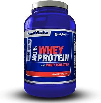 Proteinas Whey isolate 100% proteina de suero hidrolizada de alta calidad - 908g -Aumenta el Crecimiento muscular y el rendimiento deportivo. Calidad ...