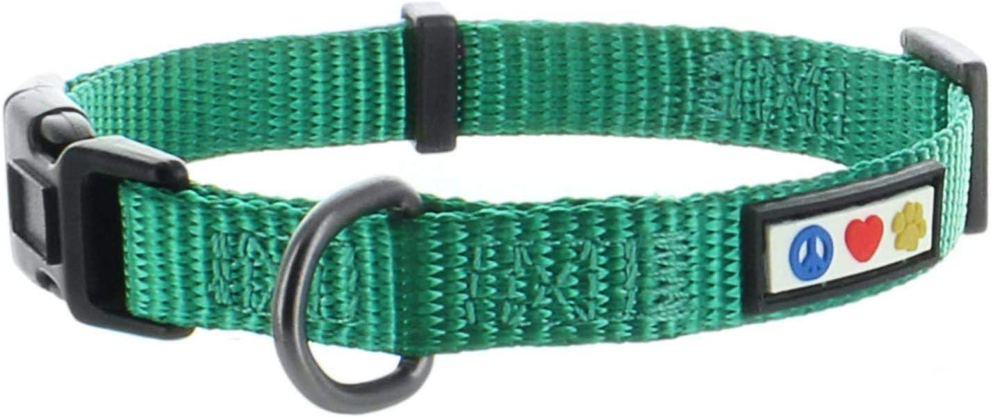 Pawtitas Collare Riflettente Collare per Cuccioli Collare per Animali Collare per Addestramento Grande Collare per Cani Camouflage Verde Collare per Cani
