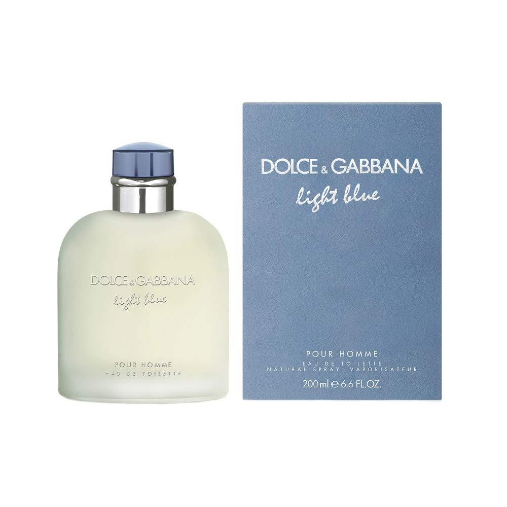 Dolce & Gabbana Light Blue Eau de Toilette Spray for Men, 6.6 Fl Oz