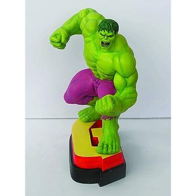"""Avengers Resin Figures - Hulk on Letter Base """"G"""": Toys & Games"""