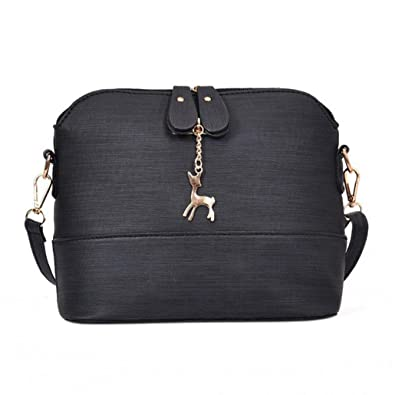 28ade82c9e83 Clearance JYC Ladies Women Messenger Bags Vintage Small Shell Leather  Handbag Casual Packet