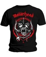 Official T Shirt MOTORHEAD Overkill LIGHTNING WREATH Red Logo All Sizes
