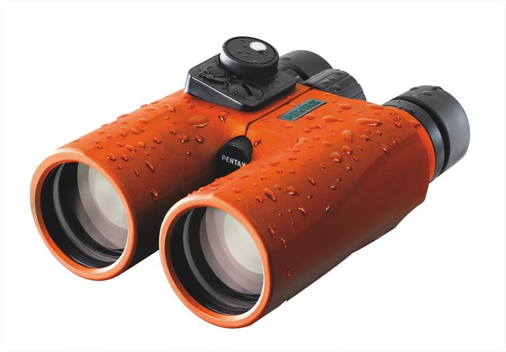 Pentax marine fernglas 7x50 mit kompass orange: amazon.de: kamera