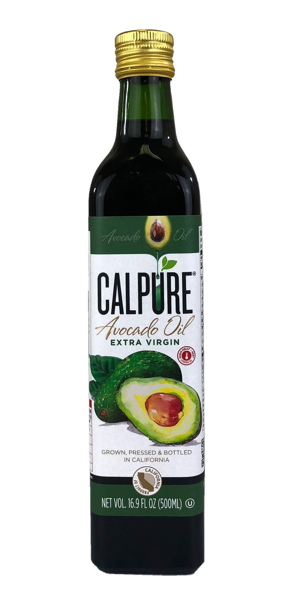 CalPure California Extra Virgin Avocado Oil (Virgin Avocado 500ml) by CalPure