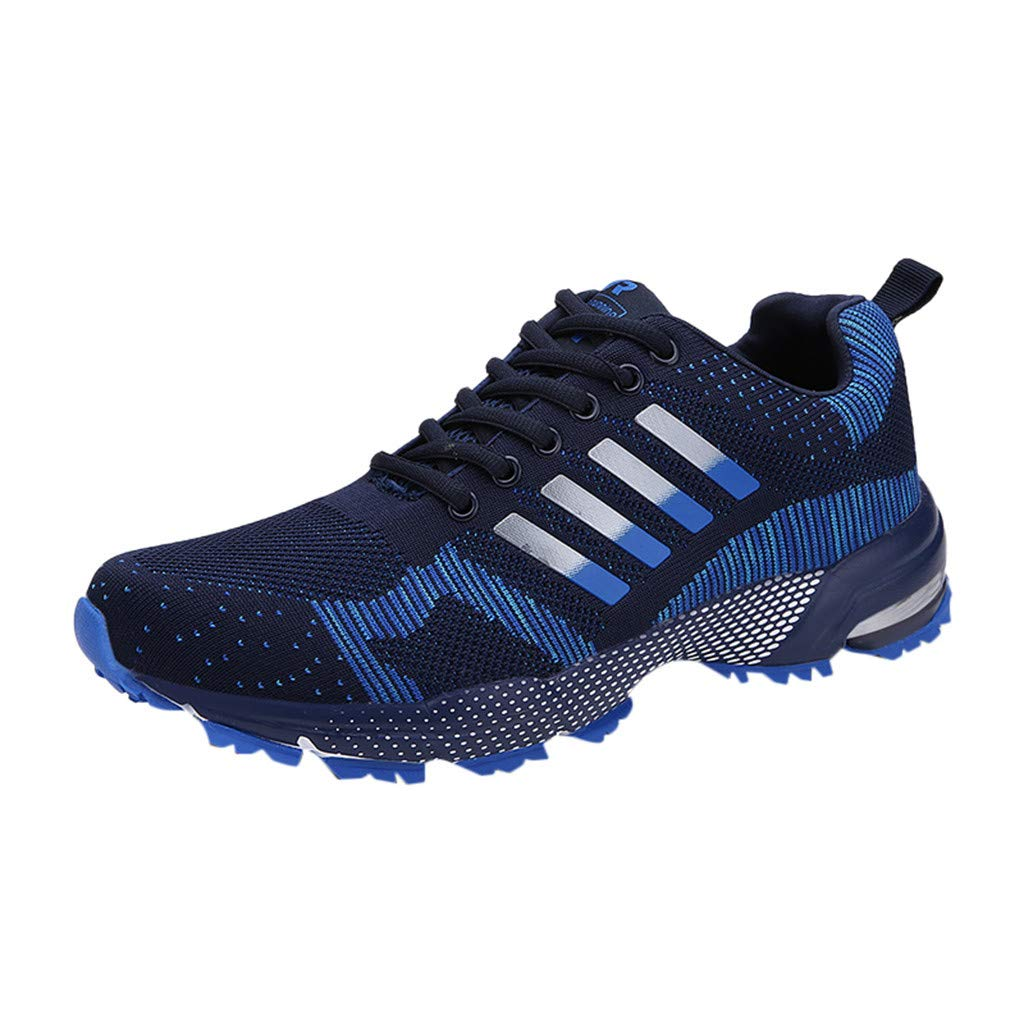 Couple Sneakers - Student Woven Mesh Casual Breathable Deodorant Large Size Lightweight Athletic Running Shoes