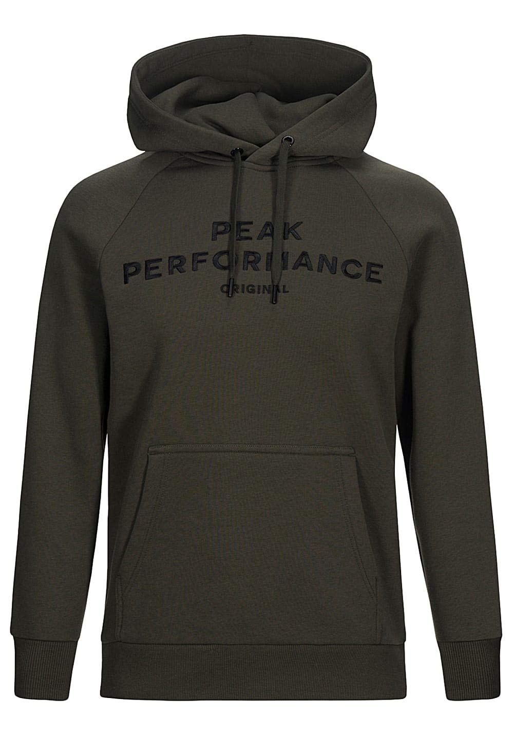 Peak Performance Logo Hood Forest Night