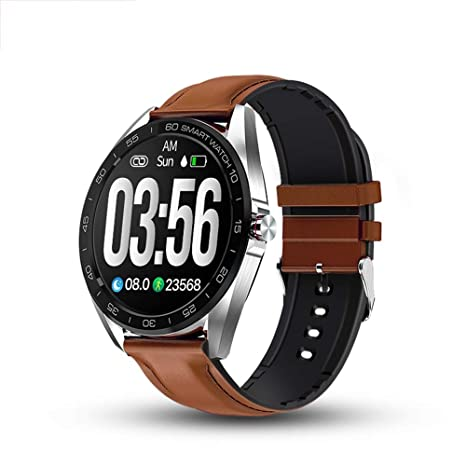 Amazon.com: Jian Ming Sports Smart Watch Business Mens ...