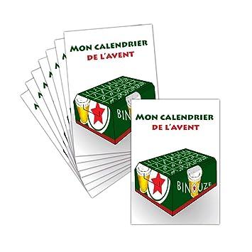 Calendrier De Lavent Humour.Carte Noel Humour Joyeux Noel Carte Postale 8 Cartes