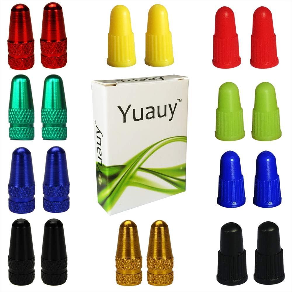 Yuauy - Tapones para válvulas de Bicicleta MTB Presta (2 Unidades ...