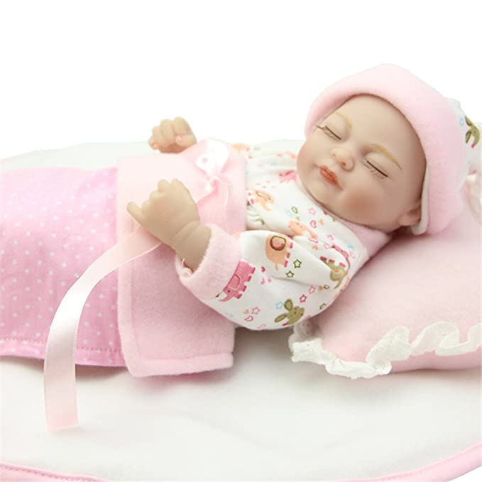 Amazon.com: Soft Fashion Nurturing Baby Doll For Collection Mini 11 ...