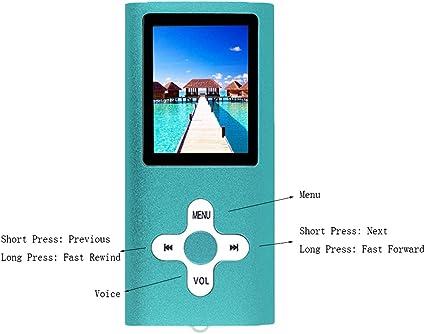 Electronics MP3 & MP4 Players Ultra Slim 1.7 LCD Screen-Black+ ...