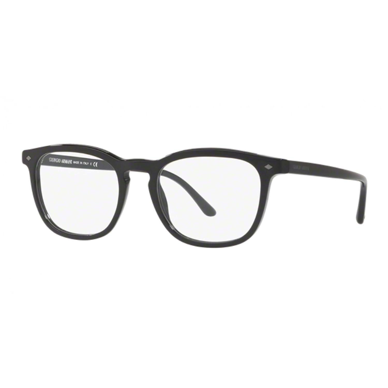 Armani - Montura de gafas - para hombre Negro Negro 52