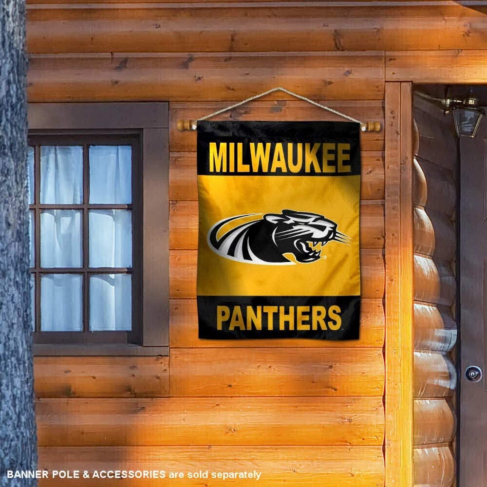 Wisconsin Milwaukee Panthers Two Sided House Flag