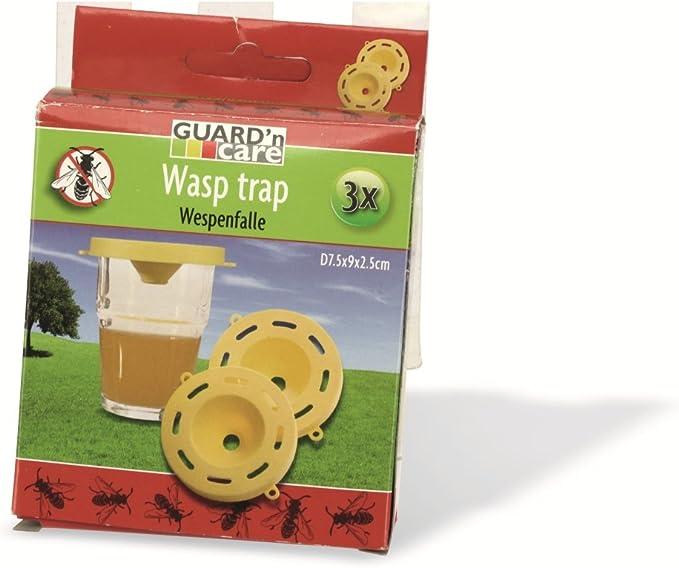 Pack 3 tapas para trampa avispas (no incluye vaso): Amazon.es ...
