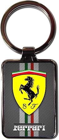 Ferrari Bouclier en m/étal Porte-cl/és