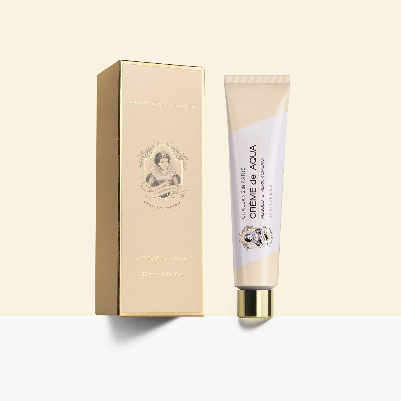 Challans de Paris Creme de Aqua - 1.01 fl.oz. (30ml) | Moisturizing Night Cream for Dry and Oily Skin