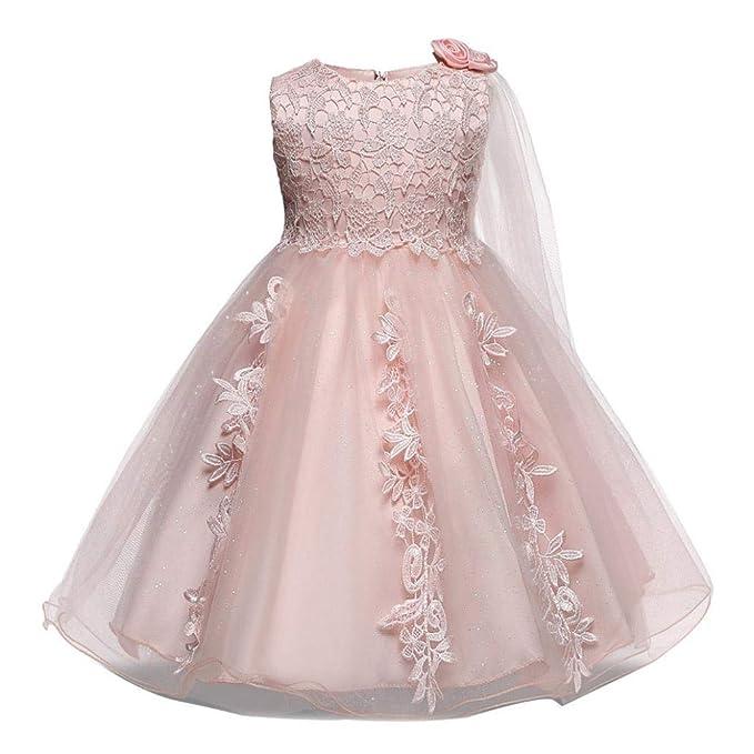 Amazoncom Baby Girls Princess Wedding Dress 0 18 Months Infant