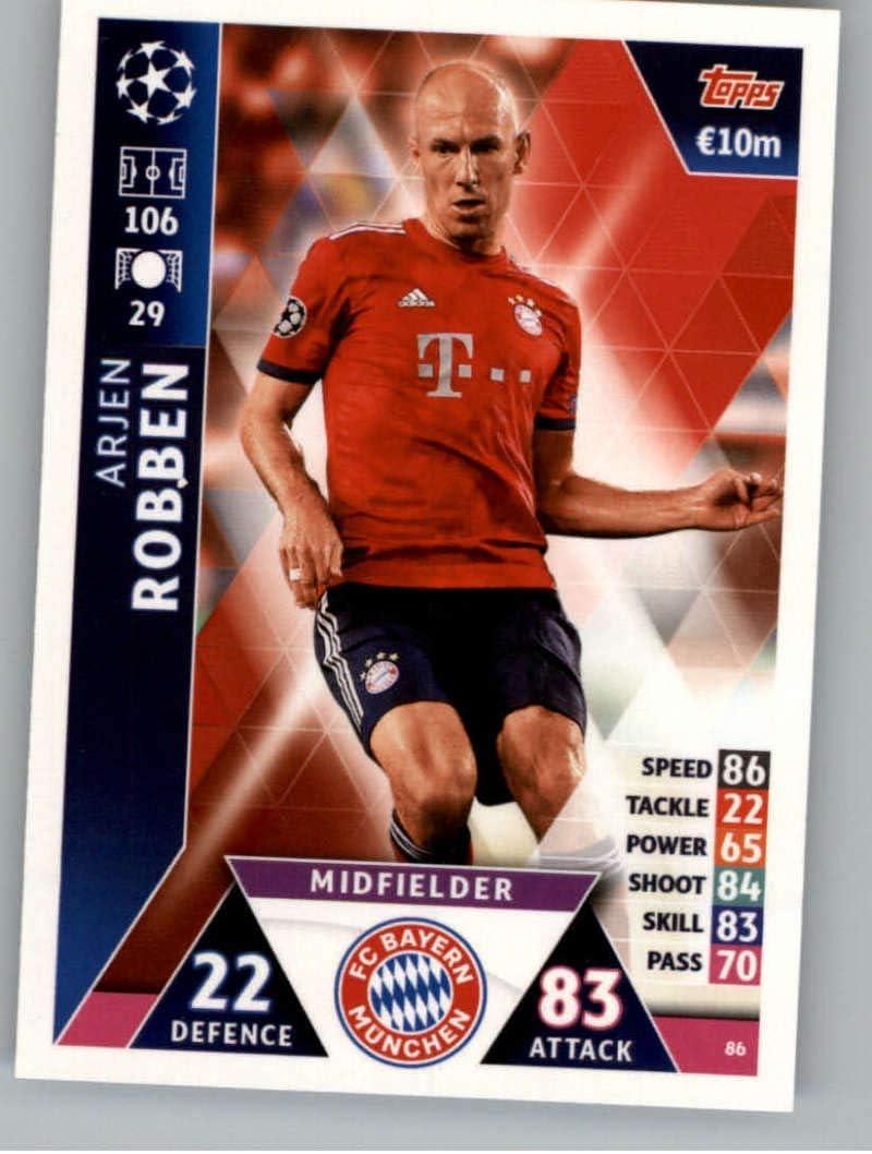 2018-19 Topps UEFA Champions League Match Attax Title Winners #TW12 James Rodriguez FC Bayern Munchen Official Futbol Soccer Card
