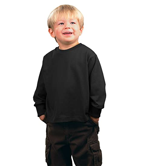 525971c75 Amazon.com: Rabbit Skins Toddler's 5.5 oz. Jersey Long-Sleeve T ...