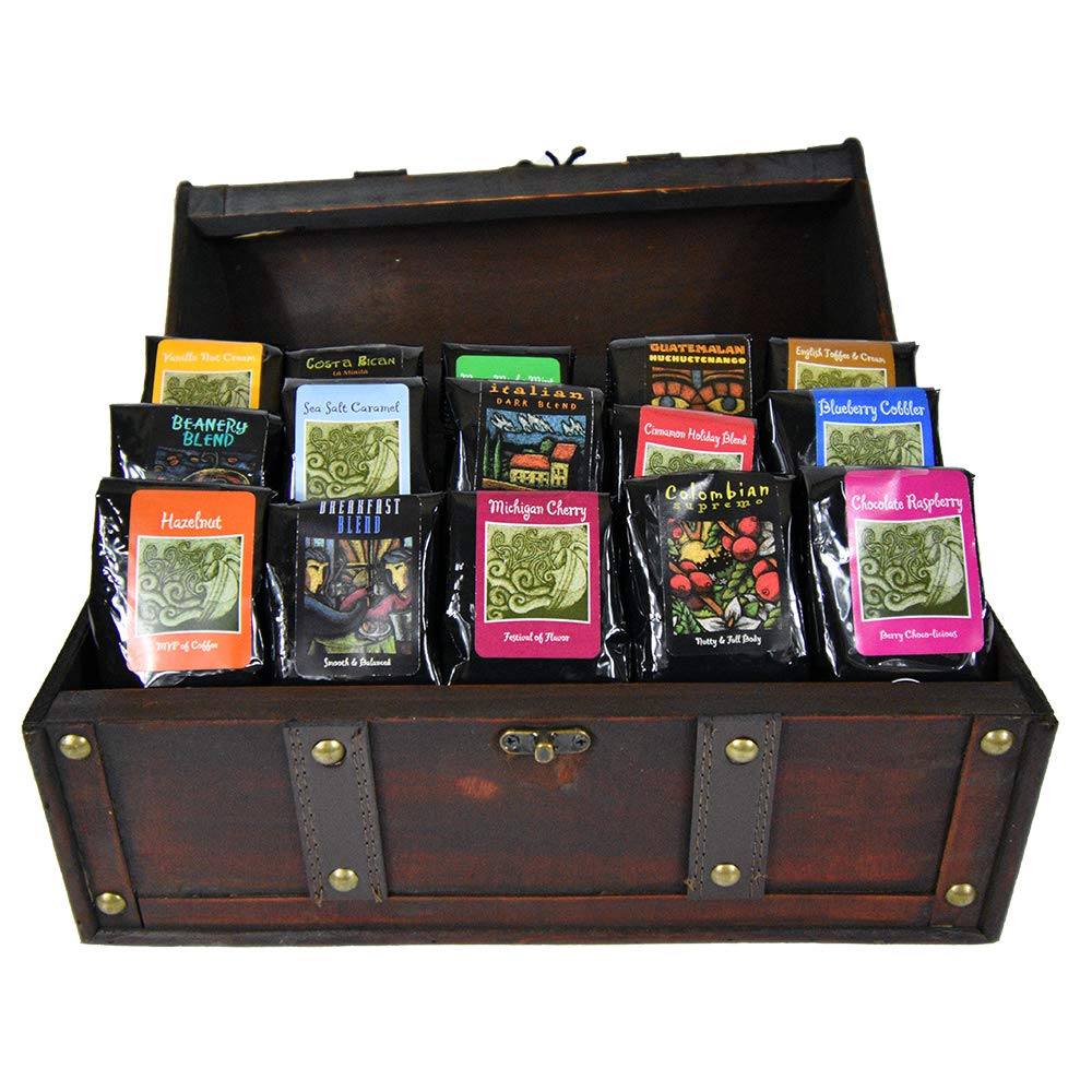 Treasure Chest of Coffee by Coffee Beanery